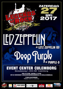 Led Zeppelin en Deep Purple @ Event Center Culemborg | Culemborg | Gelderland | Nederland