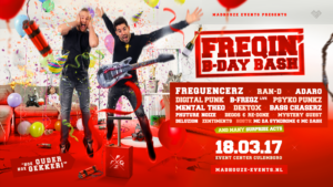 Freqin B-day Bash @ Event Center Culemborg | Culemborg | Gelderland | Nederland